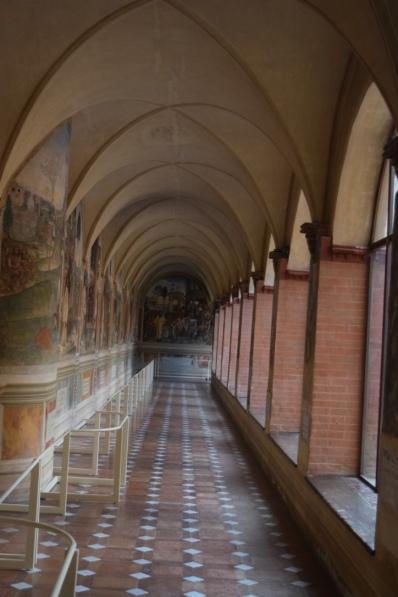 Monastery pavilion